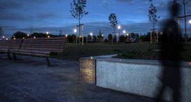 Lichtdoorlatend beton in Rotterdamse buitenruimte