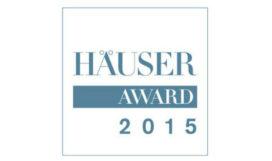 Häuser Award 2015 uitgereikt aan gedeelde eerste plaats