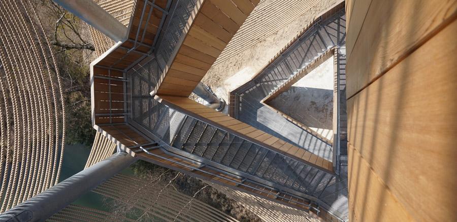 Uitkijktoren in Lommel door Ateliereen en MaMu