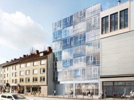 Blauraum ontwerpt Living Tower XXS in Hamburg
