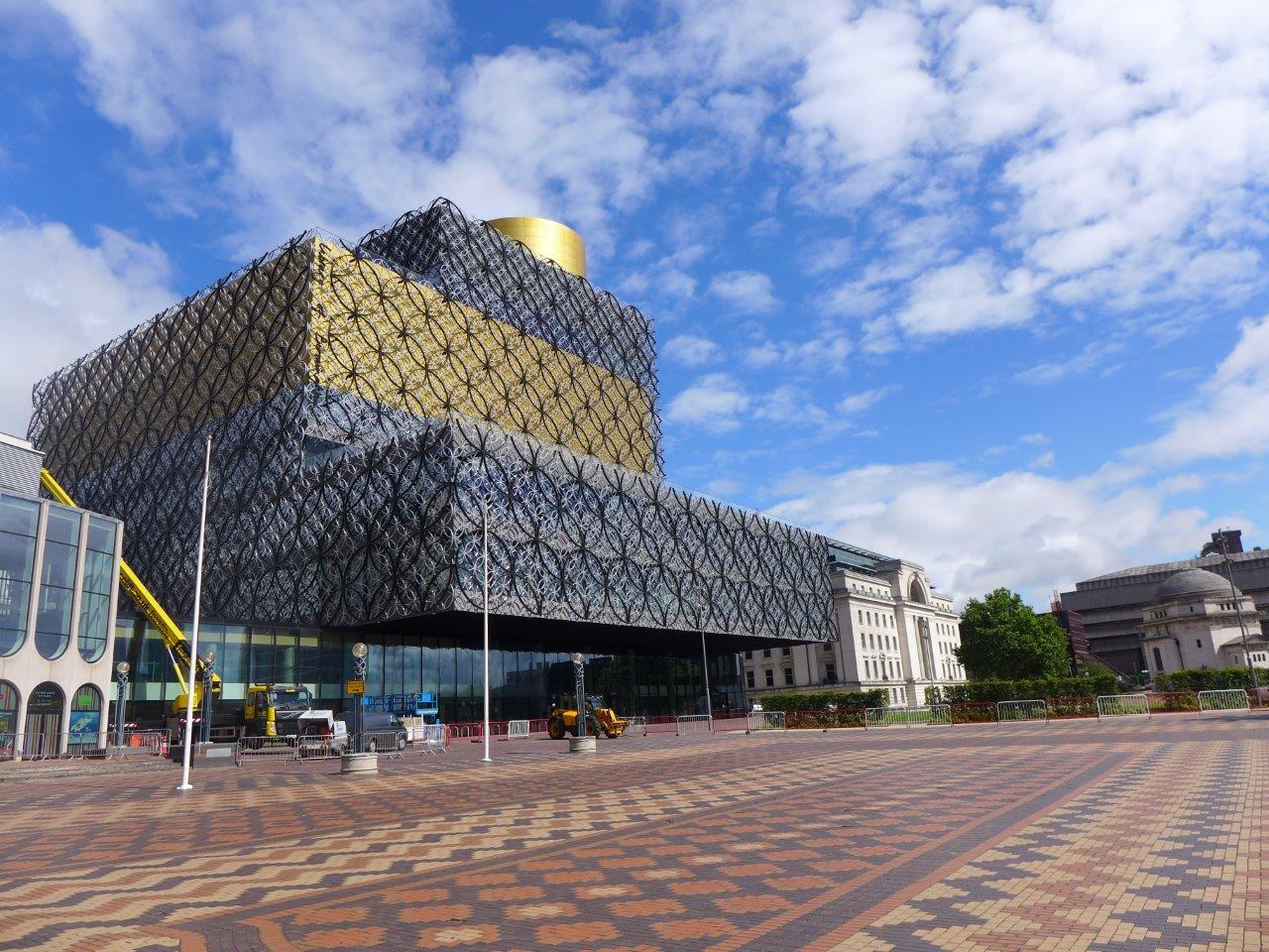 Bibliotheek Birmingham Chrit Veugten