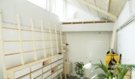 Klimkast voor atelier in Utrecht