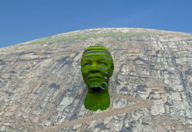 Mandela on the mountain