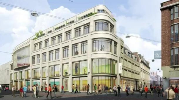 Markies in Den Haag. Ontwerp is van Vocus Architecten