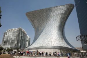 Soumaya museum in Mexico-Stad