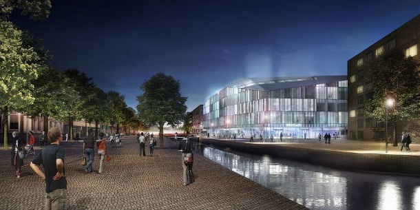 Mecanoo Michael van Gessel, Delva Landscape Architects en Jojko Nawrocki Architekci winnen in Warschau