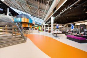 FlevoMeerbibliotheek in Lelystad door AEQUO