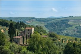 Michelangelo's huis in Toscane te koop