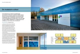 De modulaire school