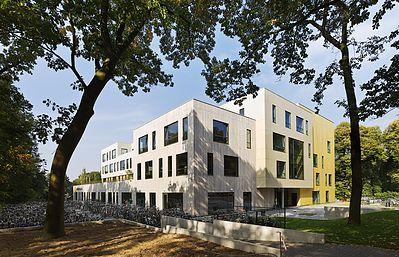 Montessori College Ector Hoogstad Architecten - Eervolle vermelding Architectuurprijs Nijmegen 2015