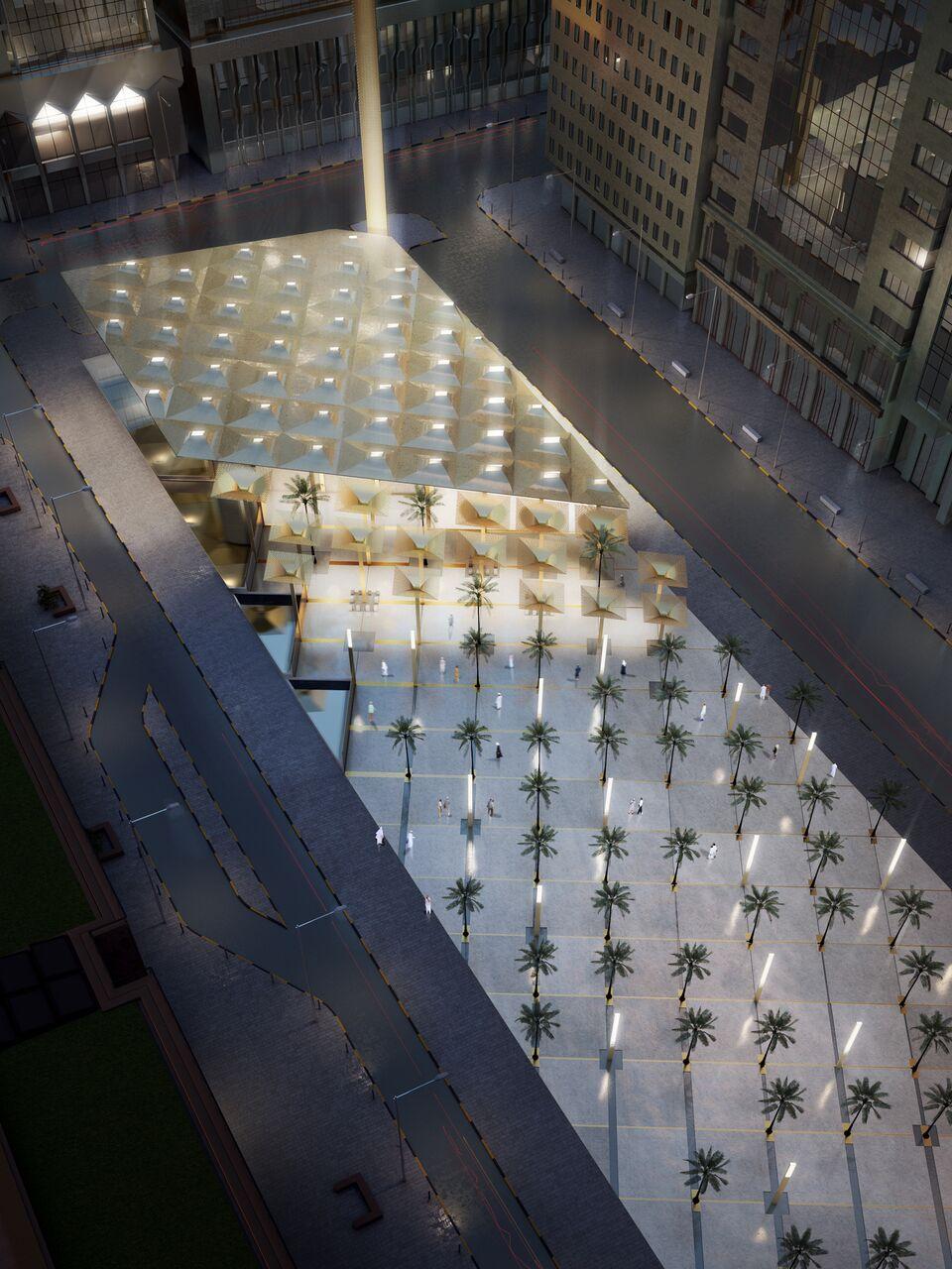 Moskee Abu Dhabi door AL_A