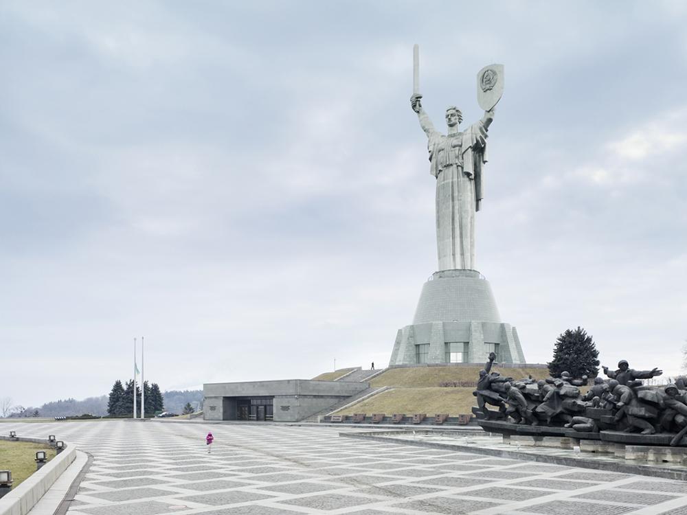 Mother of the Fatherland, Kiev, Ukraine, 1981