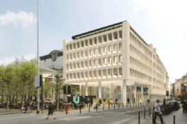 B-architecten brengt drie gebouwen naar één Muntpunt