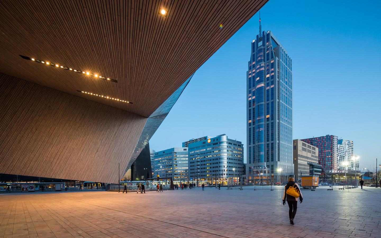 Centraal Station Rotterdam_Nom BNA Gebouw van het Jaarprijs 2015