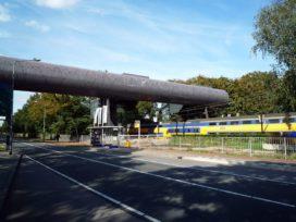 Voetgangersbrug in Hilversum