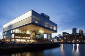 Institute of Contemporary Art in Boston door Diller Scofidio + Renfro