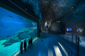 Aquarium De Blauwe Planeet opent in Kopenhagen