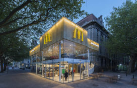 Nominatie ARC15 Detail – McDonalds Rotterdam door Mei architects and planners