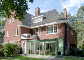Uitbreiding villa van Oosten & Honderdors in Aerdenhout door NAP