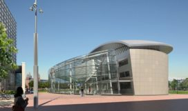 Nieuw entreegebied van Gogh museum