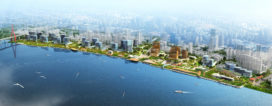 Inbo wint selectie Waterfront downtown Sjanghai