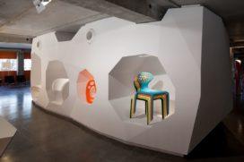 Showroom in Lyon door Jakob + MacFarlane