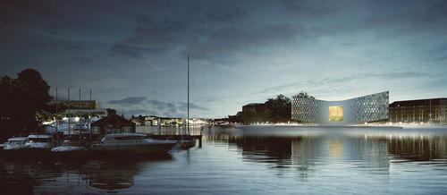 Poptempel de Nobel in Leiden door Ector Hoogstad Architecten