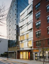 Switch Building op Manhattan door nArchitects