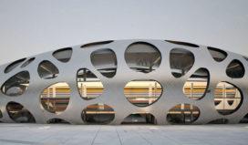 Aluminium voetbalstadion voor FC Bate Borisov