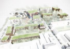 OIII ontwerpt 1e fase Zac Saint Henriette, Frankrijk