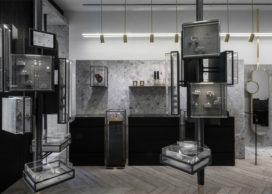 Juwelier in Athene door Kois Associated Architects