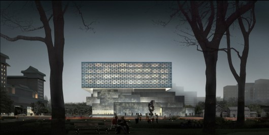 Ole Scheeren Guardian Art Center Beijing