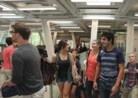 OMA´s Milstein Hall op Cornell University geopend