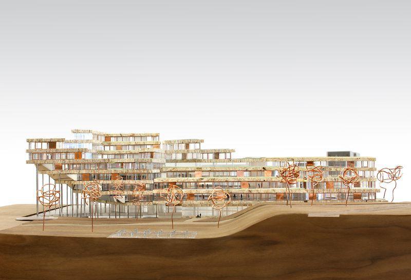 OMA op shortlist voor nieuwe VRT Gebouw Brussel