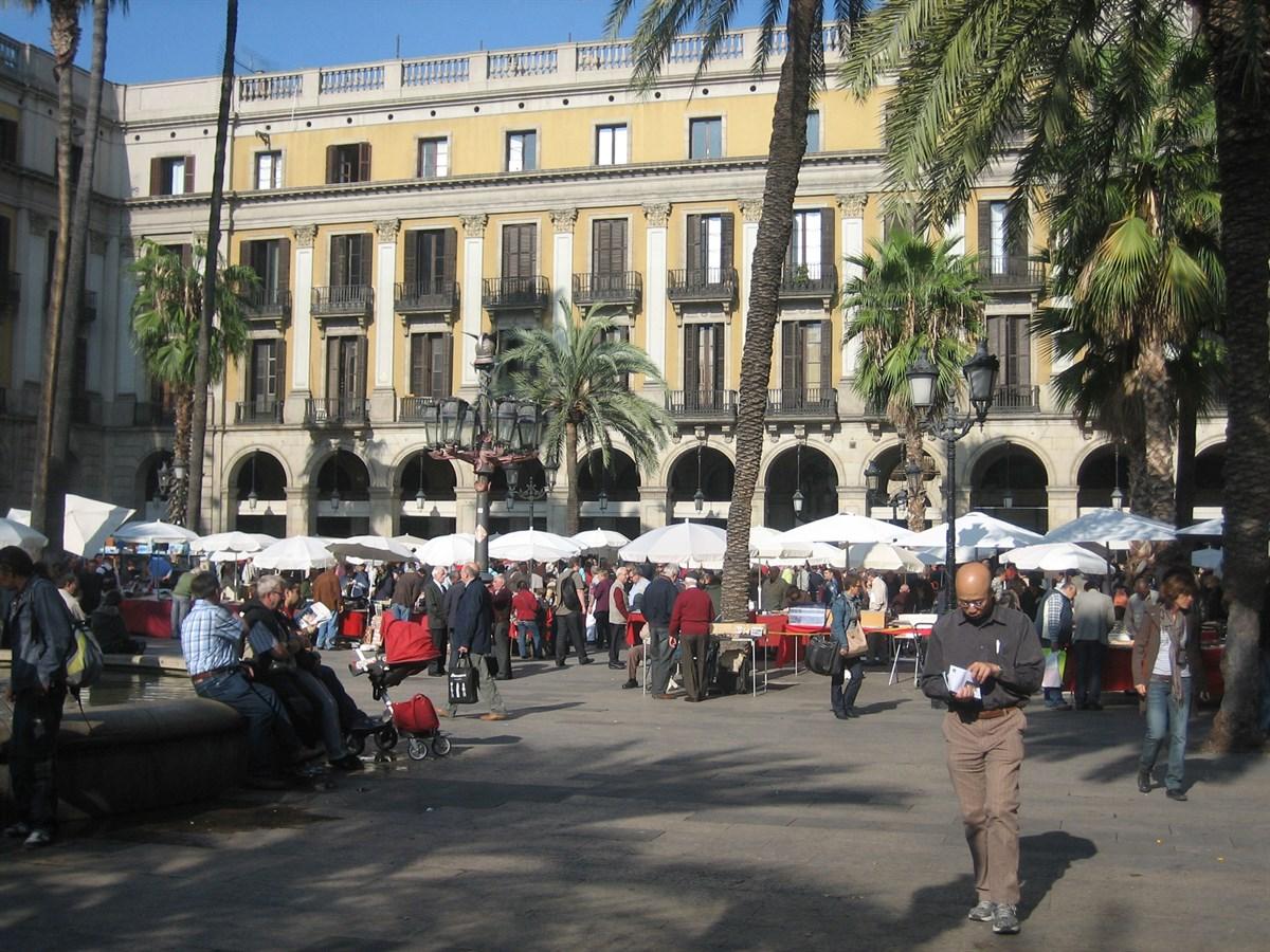 Foto Plaça Reial, Barcelona