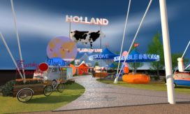Nederlands paviljoen op de World Expo 2015
