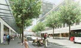Zwitsers stationsplein, Nederlandse stedenbouw