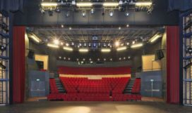 Theater De Bussel/Theek 5 in Oosterhout door DP6 i.s.m. 3TO