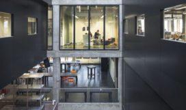 Willem de Kooning Academie in Rotterdam door TomDavid en Kraaijvanger