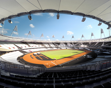 OS Londen 2012 Stadion Populous