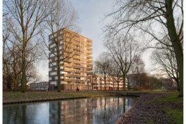 Woonblokken Leliepark in Spijkenisse