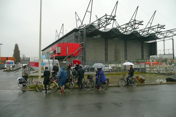 fietstoch afvalfabriek