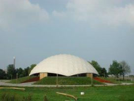 Reddingsplan voor Paper Dome