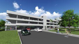 Parkeergarage TU/D door VMX Architects