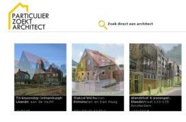 Particulier zoekt architect