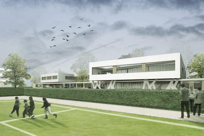 Scholencampus in Peer door Bekkering Adams Architecten