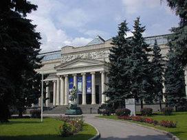Renovatie Poesjkin in Moskouse handen