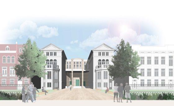 Alternatief voor Collectiegebouw Boijmans van Beuningen van MVRDV