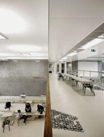 Scholengemeenschap Panta Rhei in Amstelveen door i29 en Snelder Architecten