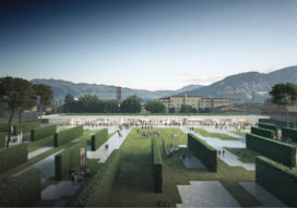 Render Ster van de Week – Central Park in Prato, Italië